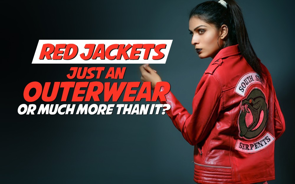 Red Jackets: Just an Outerwear or Much More than It?