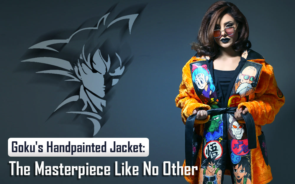 Goku's Handpainted Jacket: The Masterpiece Like No Other