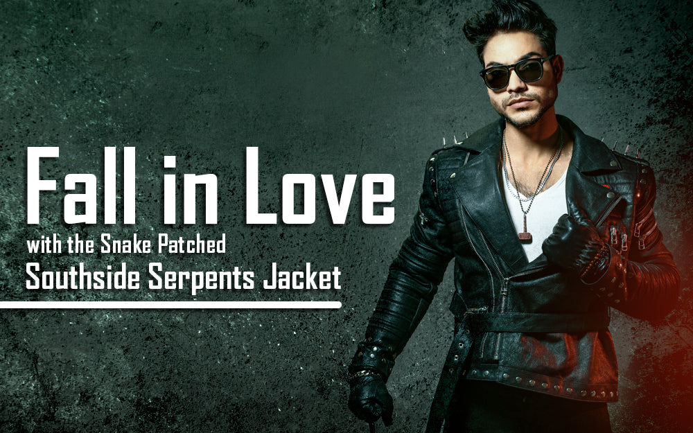 Fall in Love with the Snake-Patched Southside Serpent's Jacket