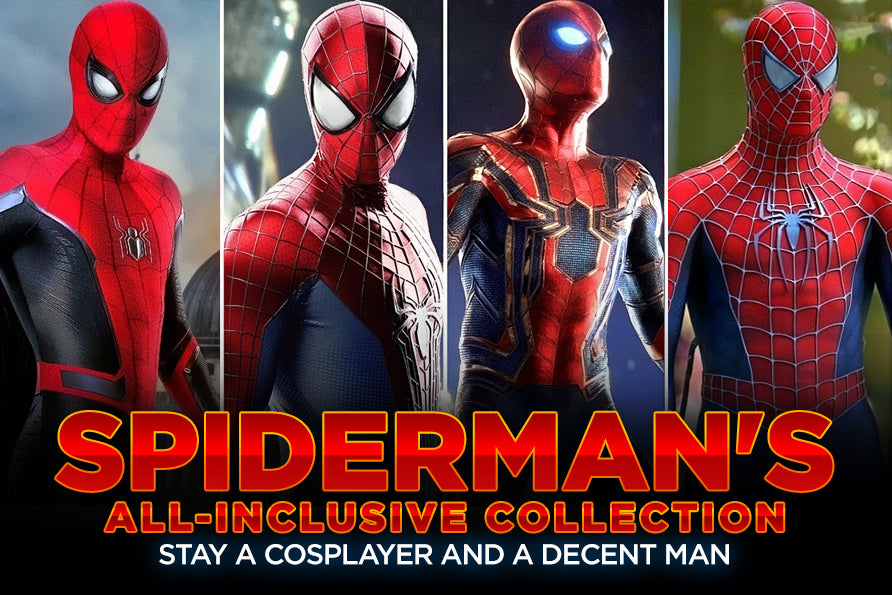 Spiderman's All-inclusive Collection: Stay a Cosplayer and a Decent Man