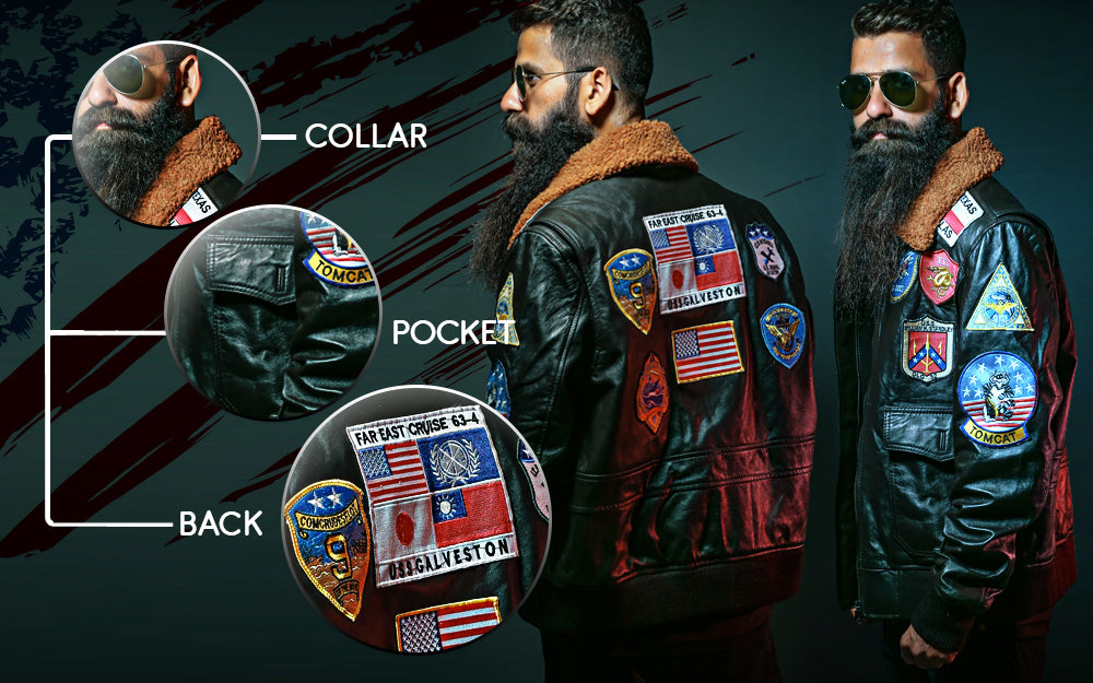 Maverick's Top Gun Leather Jacket to Revive the Old Style