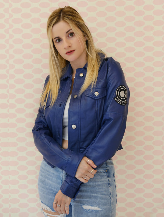Womens Future Trunks Capsule Corp Jacket