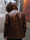 Mens Detroit Become Human Gavin Reed Leather Jacket