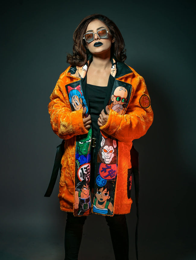 Handmade Womens Goku Jacket