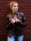 Womens Star Lord Guardians of the Galaxy Leather Jacket