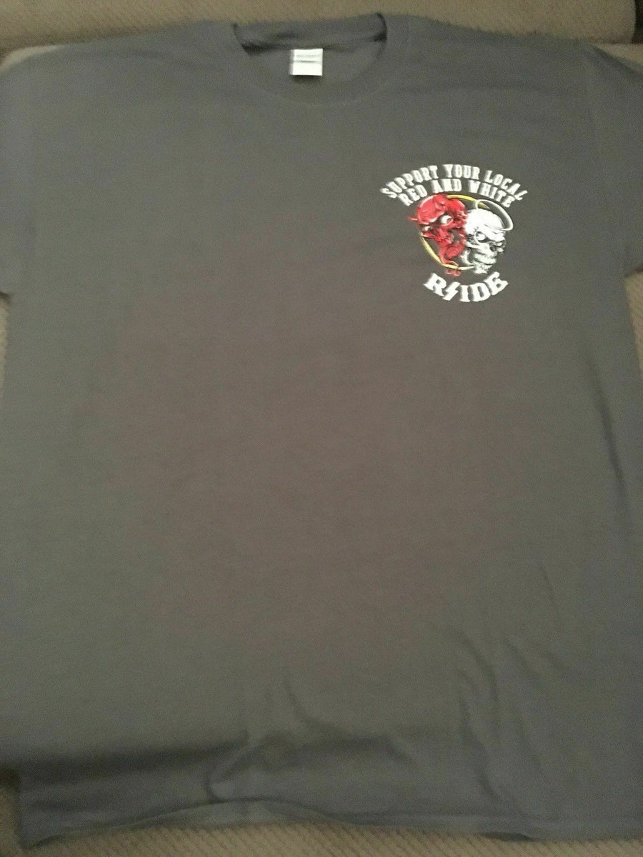 Hells Angels Rside HEAVEN N HELL support T-SHIRT  NEW NEW NEW