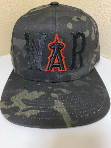 HELLS ANGELS - CAMO 'WAR' Snapback