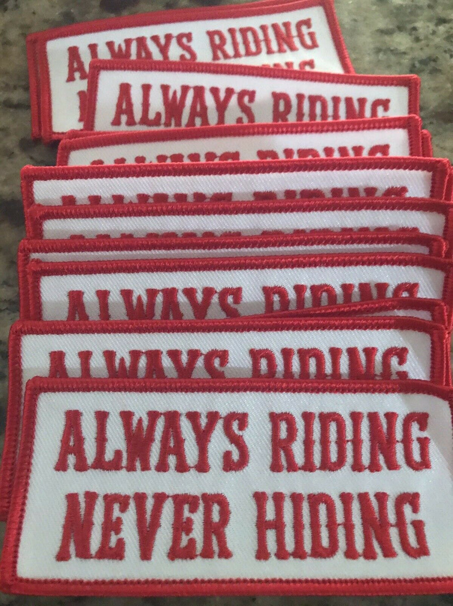 "Hells Angels - RSIDE ""Always Riding - Never Hiding"" Support Patch"