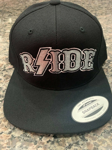 Hells Angels - Black with Silver RSIDE Snapback