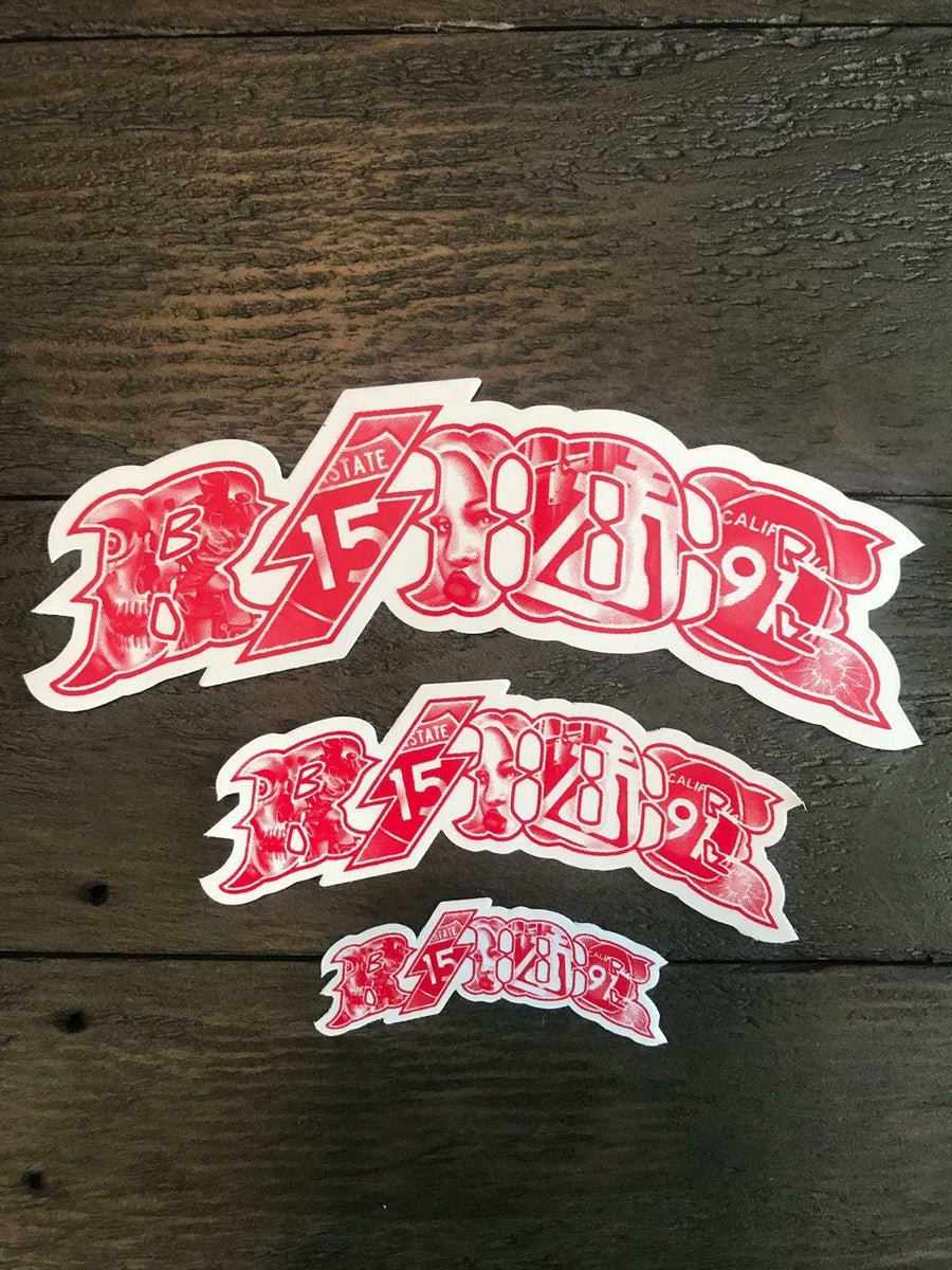 Hell's Angels - RSIDE Graffiti Stickers