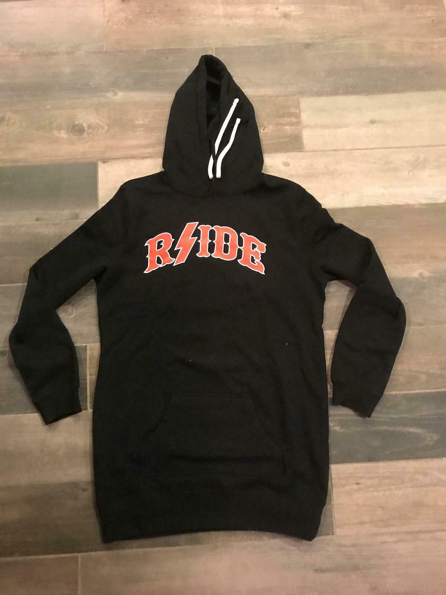 HELL'S ANGELS - RSIDE Women's Long Hoodie