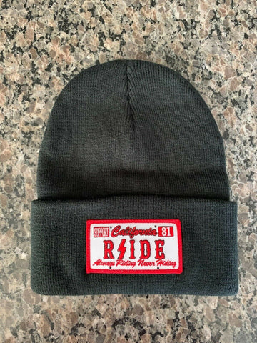 Hell's Angels - RSIDE Cali License Plate Beanie