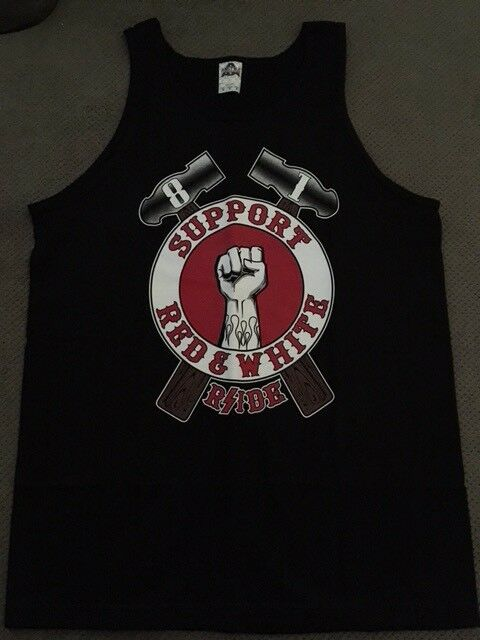 Hell's Angels R'SIDE Arm and Hammer Support Tank Top