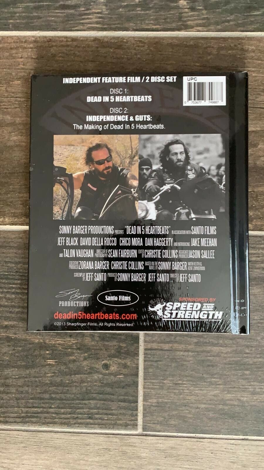Dead In 5 Heartbeats DVD - American Legend Sonny Barger (2 Disc Set)