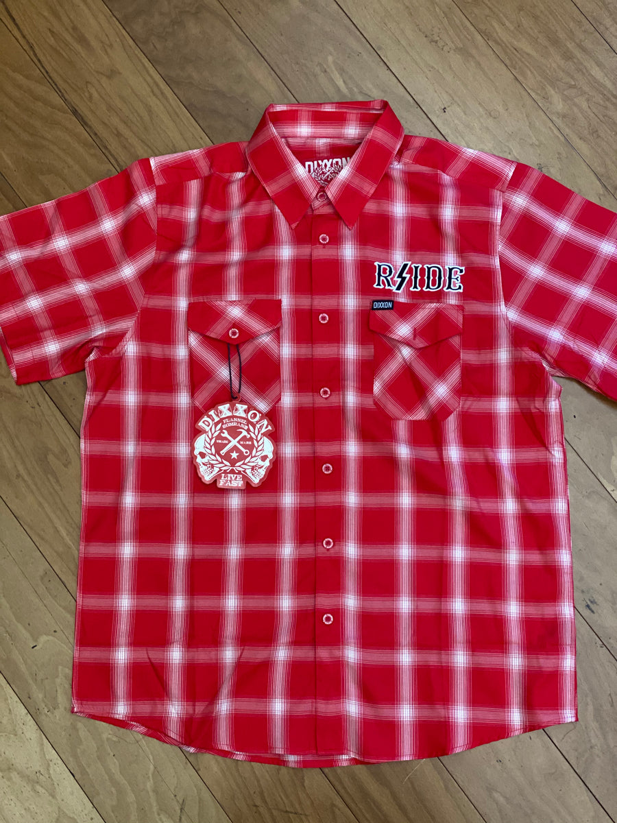 RSIDE short sleeve button up
