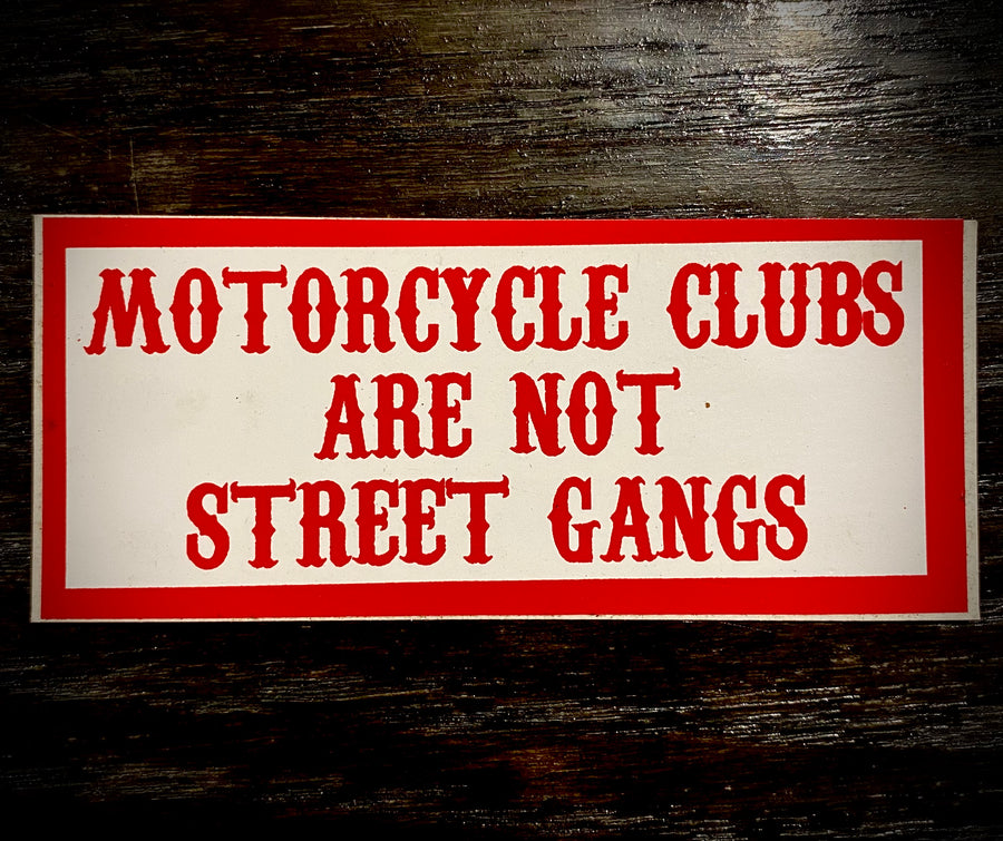 Motorcycle clubs sticker #90