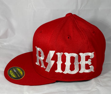 Hells Angels - Red with Black RSIDE Flex Fit Hat