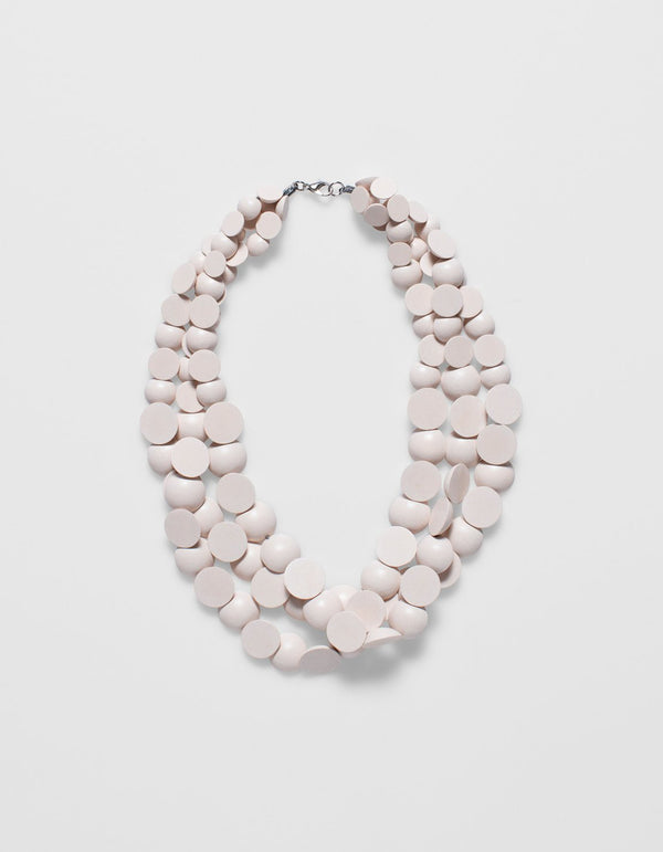 Elk Meta Necklace Blush