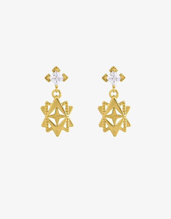 Lindi Kingi Baroque Star Post Earrings