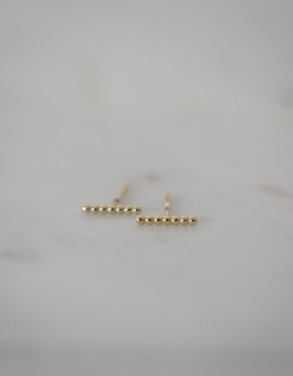 Sophie Store Dot to Dot Studs Gold