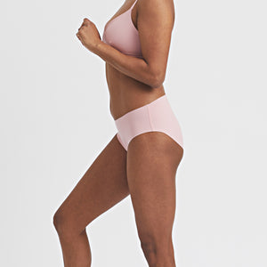 Seamless Brief in Muted Pink