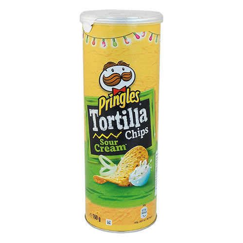 Pringles tortilla sour cream 160g