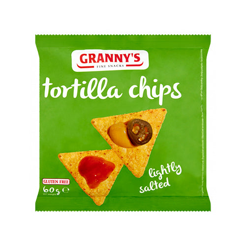 Granny's Tortilla Chips Lightly Salted 60g