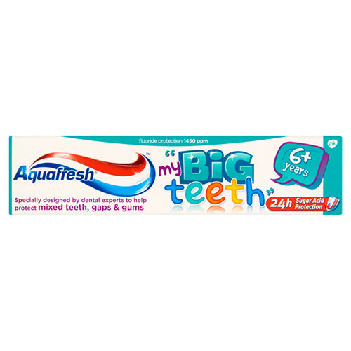 Aquafresh fogkrém Junior big teeth 50ml