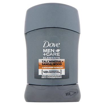 Dove Men Talc Mineral&Sandelwood stift 50ml