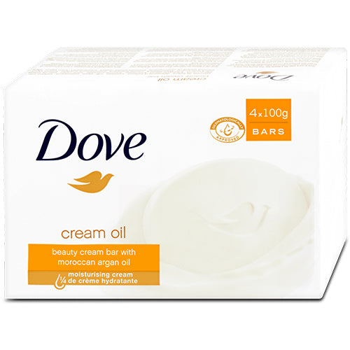 Dove szappan 4x100g Cream Oil