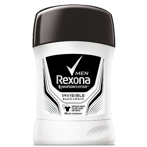 Rexona stift for Men Invisible Black&White 50ml