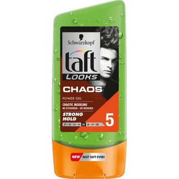 Taft férfi hajzselé Chaos power gel 150ml