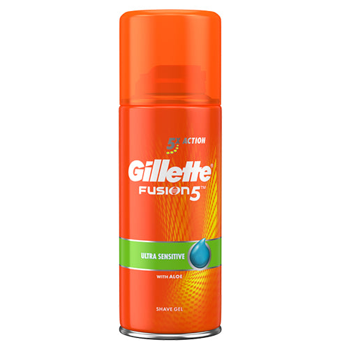 Gillette borotvagél Fusion Ultra Sensitive 75ml