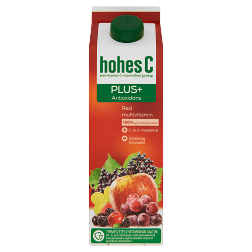 Hohes C Plusz Antioxidáns Red Multivitamin 1l