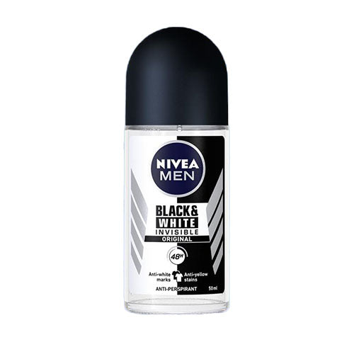 Nivea Man Black&White Invisible golyós dezodor 50ml