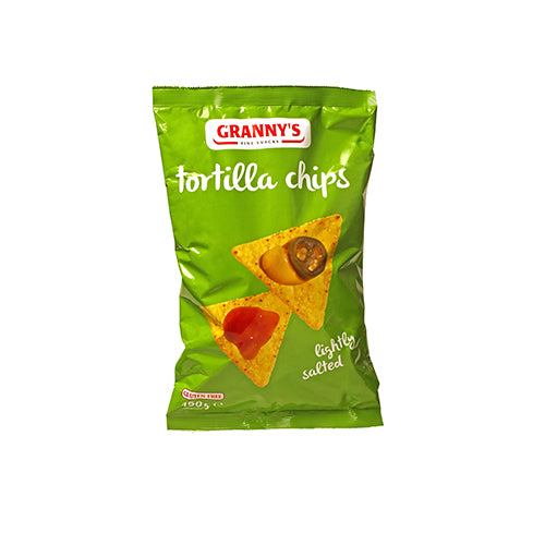 Granny's Tortilla Chips Lightly Salted 150g