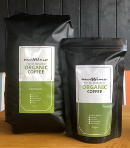 Massimo House Blend Coffee Beans 250gr