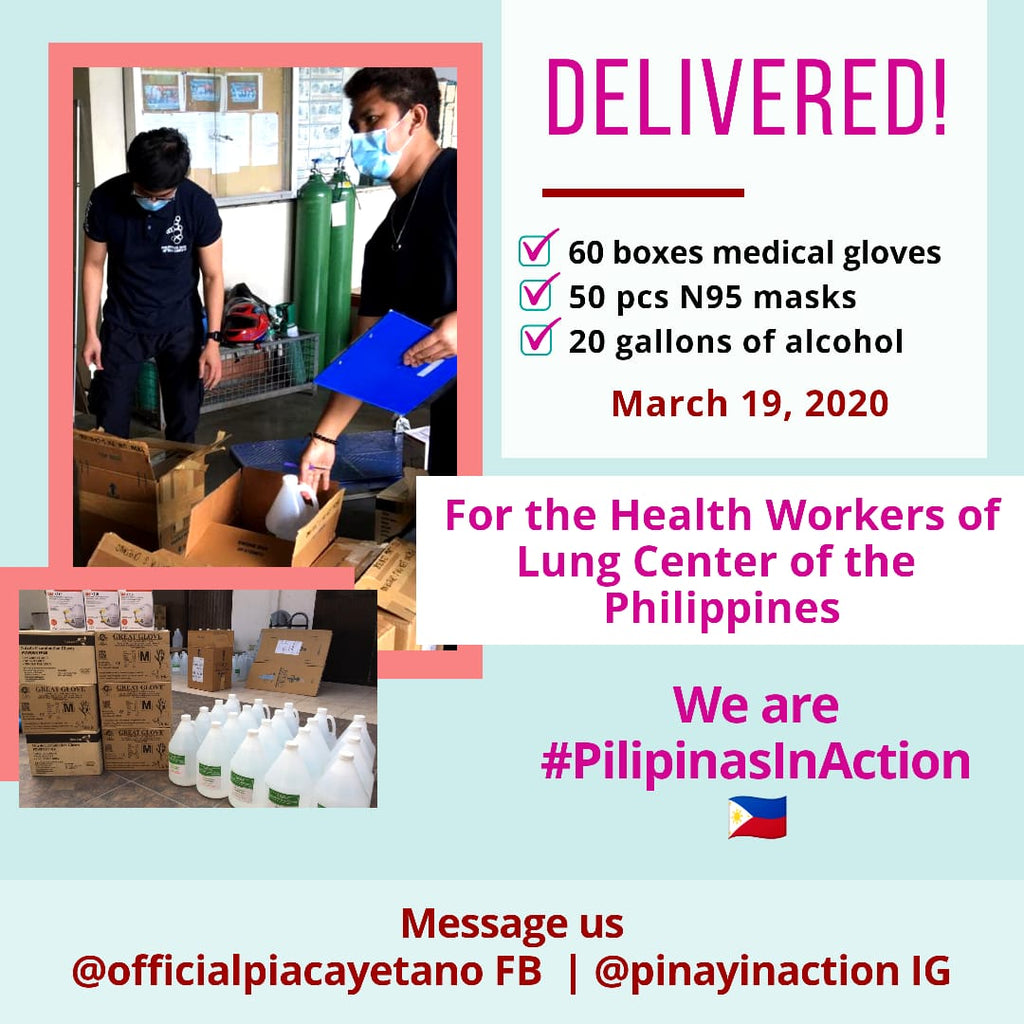 Pilipinas In Action Delivers More Help For Our Frontline Health Workers