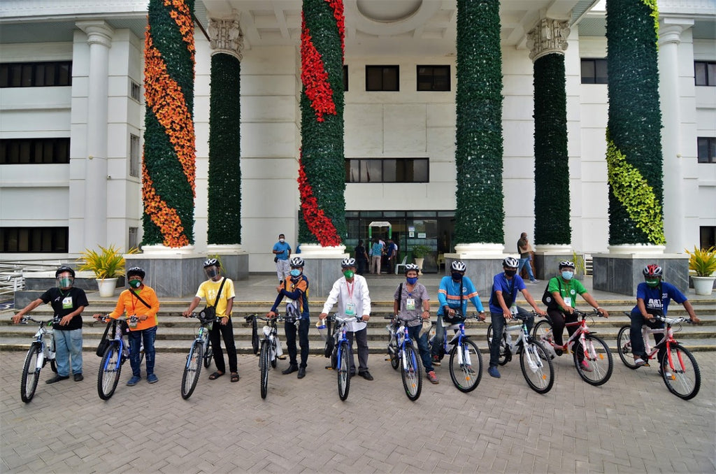 A trail of two cities: Bikes for Tagbilaran and Bacolod