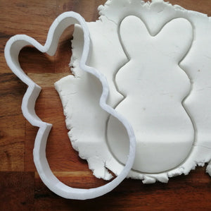 Round Rabbit cookie cutter demo