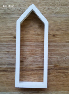 Thin House Cookie Cutter