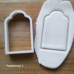 Tombstone Style 2 Cookie Cutter Demo