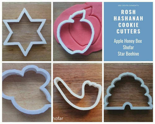 Rosh Hashanah cookie Cutter collection