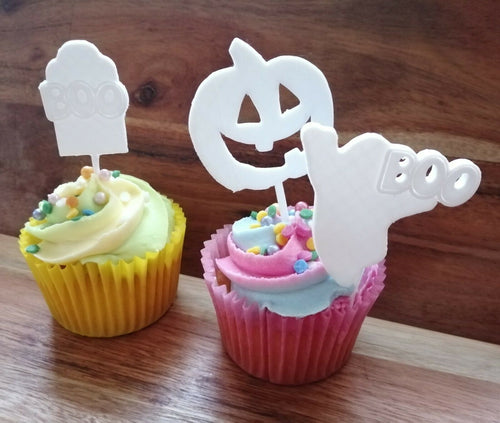 Halloween Cake Toppers x 3