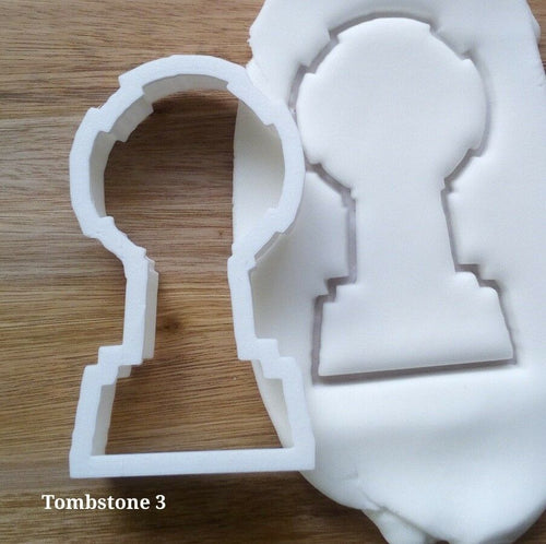 Tombstone Style 3 Cookie Cutter
