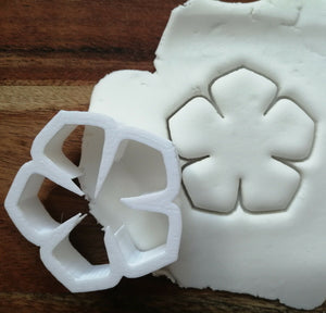 Flower 5 Petal Cookie Cutter Demo