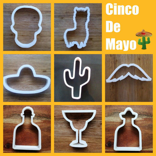 Cinco De Mayo Cookie Cutter Collection