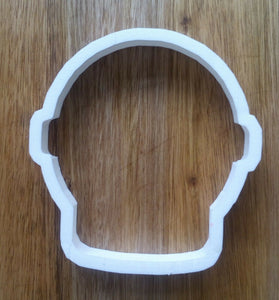 Round Space Helmet Cookie Cutter