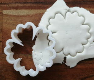 Hibiscus Flower Cookie Cutter Demo