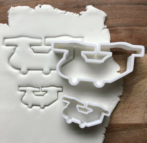 Chinnook Helicopter Cookie Cutter